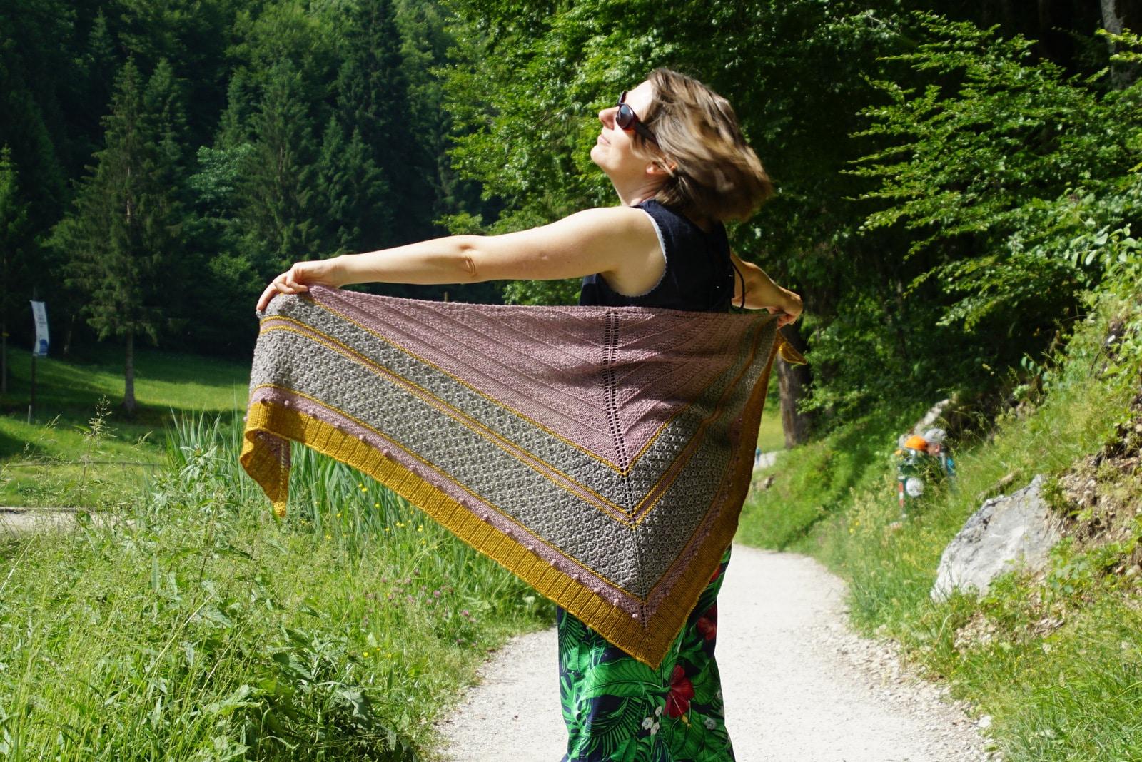 Ein Top für den Sommer, ein Tuch für den Herbst